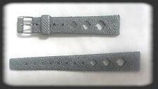 BRACELET MONTRE CAOUTCHOUC STYLE TROPIC/* ARGENTÉ /* 16 mm /* REF.MY178