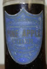 Antique Dr. Talbott's Medicated Concentrated Pine Apple Cider Medicine Bottle