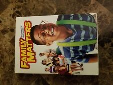 Family Matters: The Complete First Season 1 (DVD, 2010, 3-Disc Set) Works Great!