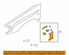 SUBARU OEM 1998-2000 Forester Fender-Molding Assy Right 91057FC201 GENUINE