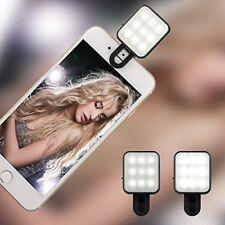 MINI CLIP PER FARETTO LED LUCE FLASH Selfie Cellulare Foto Video Flash della fotocamera
