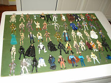 "GROUP OF 60 STAR WARS 3-3/4"" ACTION FIGURES FROM THE 1990's, NICE SHAPE"