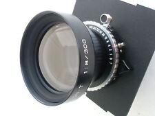 Fuji (Fujinon) T 300mm /f 8.0 lens, Copal shutter, a lens board (610138)