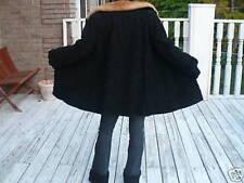Schiaparelli black persian Lamb & Mink Fur Coat Jacket