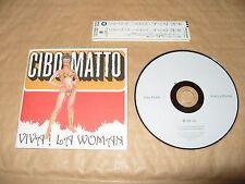 Cibo Matto Viva La Woman cd 10 tracks japan cd 1996 Excellent condition