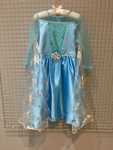 Frozen Princess Elsa Fancy Dress Costume Age 3/4, 5/6yrs New
