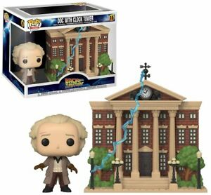 Funko Pop! Back to the Future DOC with CLOCK TOWER #15 Vinyl Figure NEW & IN UK