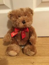 Harrods Gilbert Bear Red Ribbon