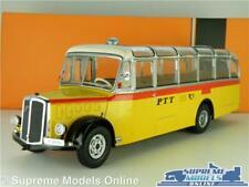 SAURER L4C MODEL BUS 1959 1:43 SCALE IXO SWISS PTT POST SAN BERNARDINO BUS003 K8
