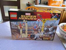 Lego Marvel SH Spiderman L'Equipe de Rhino et l'Homme Sable 76037 Neuf et scellé