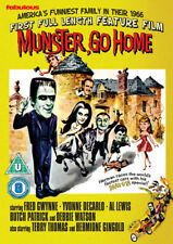 Munster, Go Home DVD (2015) Fred Gwynne, Bellamy (DIR) cert U ***NEW***