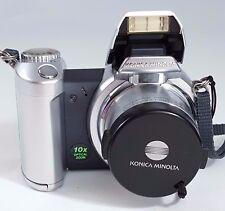 Konica Minolta DiMAGE Z2 4.0MP Digital Camera Silver Tested Working