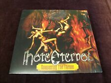 "HATE ETERNAL ""CONQUERING THE THRONE"" LP REISSUE EARACHE 2014 USA DEATH METAL ETC"