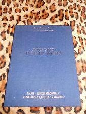Catalogue  vente - Ader, Picard, Tajan - Importants tableaux anciens, 22/06/1990