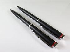 2 Stück Rotring Sydney schwarz matt Kugelschreiber unbenutzt mit Minen