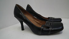 Faith Women's 100% Leather Slim High Heel (3-4.5 in.) Shoes