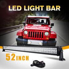 "52"" 700W Cree Led Work Light Bar Flood Spot Truck Driving Suv 4Wd Atv Utv 50/54""(Fits: More than one vehicle)"