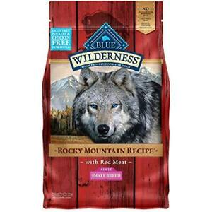 Blue Buffalo Wilderness Rocky Mountain High Protein Natural Small Breed 4-Pounds