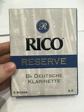 Rico Reserve Soprano Saxophone Reeds - 4 - Box of 5
