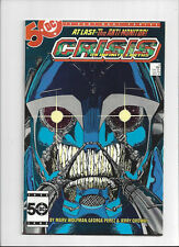 Crisis on Infinite Earths #6/1st Full & Cover App of The Anti-Monitor/VF