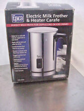 # 82473 EPICA AUTOMATIC ELECTRIC MILK FROTHER AND HEATER CARAFE  NEW