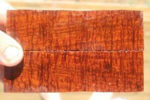 Ringed Gidgee Bookmatched Scales 885