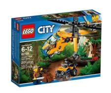 Elicottero per gioco di costruzione Lego sul City