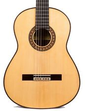 German Vazquez Rubio 2014 Reyes Flamenco Negra Guitar Spruce/Indian Rosewood NM
