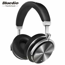 Bluedio T4 Turbine Active Noise Cancelling Over-ear Swiveling Bluetooth Headset!