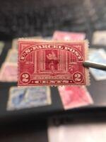 us stamps Parcel Post Scott Q2 MHOG Lot J