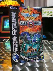 Digital Pinball - Sega Saturn Game Manual