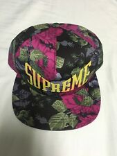 NWT Supreme Nyc Floral 5 Panel Hat