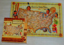 American Indian Tribes Jigsaw Puzzle 500 Bill Stroble United States Map Native