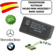 TRANSPONDER ID33 CAR KEY PCF7931XP  BLANK VIRGIN CHIP MERCEDES BMW BENZ