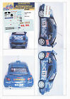 Decals 1/43e Renault Maxi Mégane CSC Cerutti Rallye Valli Ossolane 2001