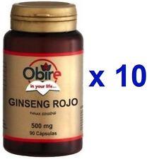 Ginseng rojo 500mg 180caps Obire vitalidad natural