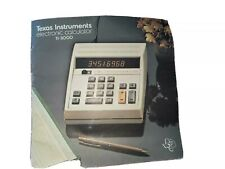 New ListingTexas Instruments Ti-3000 Electronic Calculator Operating Manual Only (Rare) '72