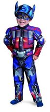 Transformers Costume, Kids Optimus Prime Movie Muscle Toddler Costume, Toddler,