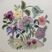 'Lark Rise'- a traditional crewel embroidery kit