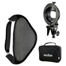 Godox Pro Folding 80*80cm Flash Soft Box Kit with S-type Bowens Mount