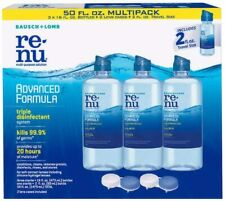 Bausch + Lomb Renu Advanced Formula Contact Disinfectant  New