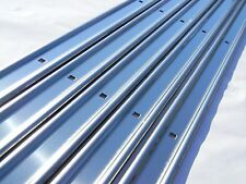 Unpolished Stainless Bed Strips Chevy 1967 - 1972 Chevrolet Short Stepside Truck