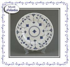 """Kuchenteller """"Finlandia"""" von Myott England blau weiss Dessert"""