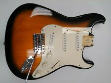 Fender Squier Stratocaster LOADED BODY Strat - Tobacco Sunburst - Clean