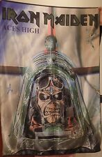 IRON MAIDEN Aces High FLAG CLOTH POSTER WALL TAPESTRY BANNER CD Heavy Metal