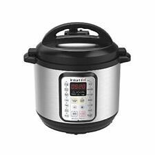 Instant Pot 8 Qt Viva 9-in-1 Multi-Use Programmable Pressure Cooker with recipe