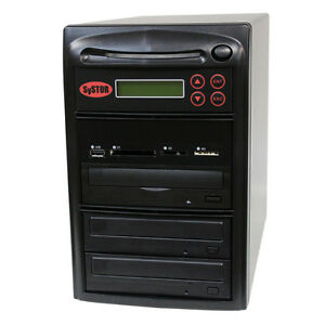 SySTOR 1-2 USB/SD/CF/MS/MMC MultiMedia Backup Copier to CD DVD Duplicator