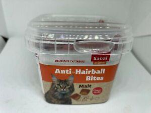 Sanal Anti Hairball Bites Malt Cat Treats 75gr