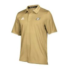 Akron Zips NCAA Adidas Men's 2018 Sideline Sand Team Iconic Climalite Polo Shirt