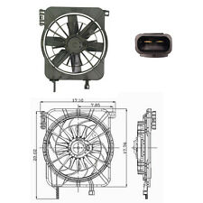 Rad & Cond Fan Assembly Fits: 1995 - 2004 Pontiac Sunfire / Chevrolet Cavalier